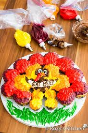 thanksgiving turkey cupcake cake s kitchen