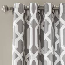 grey trellis curtains home decorating interior design bath