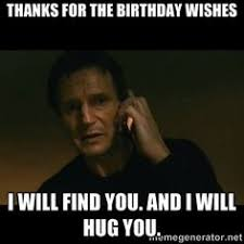 Thank You Birthday Meme - facebook birthday thank you status funny google search