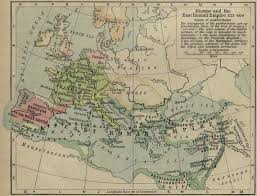 East Europe Map by Map Of Europe And East Roman Empire 533 600