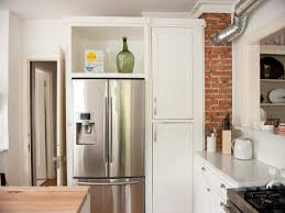 Kitchen Wall Cabinet Depth Above Refrigerator Cabinet Usashare Us