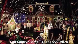 tacky lights tour richmond va camryn limousine youtube