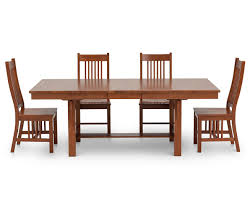 Brown Dining Room Table Mission Ii 5 Pc Dining Room Set Furniture Row