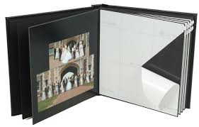 photo album with adhesive pages self mount albums