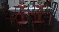 Oriental Dining Table by Rosewood Asian Oriental Dining Furniture Sets Ebay