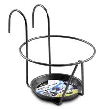 whites outdoor round deluxe balcony pot holder i n 3000248