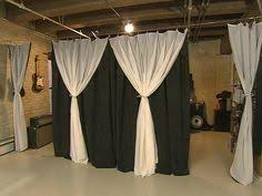 Curtains To Divide Room Sound Proof Curtains As Room Divider Studio Art Center