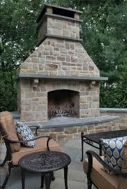outdoor stone fireplaces binhminh decoration