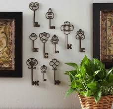 Recycled Wall Decorating Ideas 20 Keys Home Decorations Opening New Doors To Decorating Modern