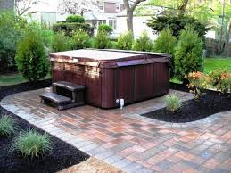 home design outdoor patio ideas with tub backyard fire pit and