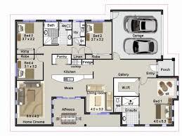 4 br house plans simple modern 4 bedroom house plans