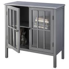 Two Door Storage Cabinet Windham Two Door Storage Cabinet Gray Threshold Target