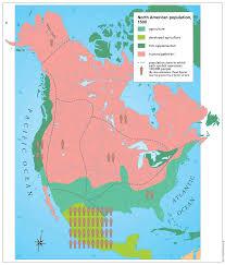 Native American Map Of North America Oregon City Schools Us History Historical Foundations