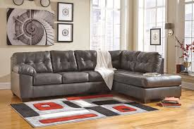 Tufted Sofa Cheap by Furniture Faux Leather Dark Grey Tufted Sofa For Modern Living