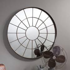 uncategorized metal frame mirror large mirror round wall mirror