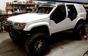 jeep cherokee lights 99 04 jeep gc wj led bracket mounts jeepers market