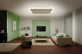 Wohnzimmer Mit Indirekter Beleuchtung Vom Licht Gestreichelt Paulmann Licht