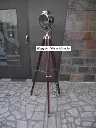 Nautical Spotlight Floor Lamp by Regal Nauticals Spot Search Light