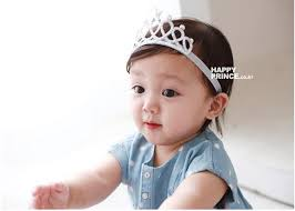 headband baby snow glitter crown headband baby fashion hairband