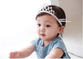 headband for baby snow glitter crown headband baby fashion hairband