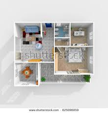home plans with interior photos 3d house plans stock images royalty free images vectors