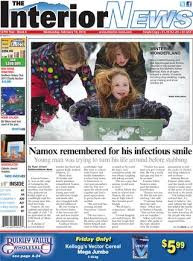 Smithers Interior News Obits Smithers Interior News January 23 2013 By Black Press Issuu