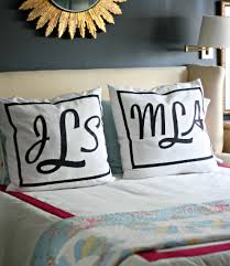monogrammed applique pillows u2022 mimzy u0026 company
