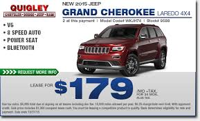 jeep grand limited lease deals 2015 jeep grand lease special boyertown vehicle