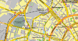moscow russia map moscow russia printable vector city plan map