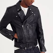 leather motorcycle coats j crew italian leather studded motorcycle jacket in black for men
