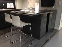 ringhult kitchen ikea grey gloss with breakfast bar had u0027t thought