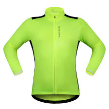 fluorescent cycling jacket fluorescent green black white cycling jacket men women bicycle