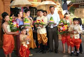 mariage cambodgien mariage cambodgien photo stock éditorial image 17616663