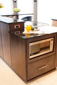 Kitchen Island With Microwave Drawer Under Counter Microwave Drawer 22 Trendy Interior Or Convenient