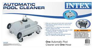 Intex Pools 18x52 Intex Automatic Above Ground Swimming Pool Vacuum Cleaner 28001e