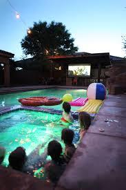 Backyard Movie Night Rental Pool Party Movie Night