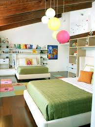 Kids Wall Shelves by Bedroom Green Kids Room With Green Fluffy Rug And Green Comfort