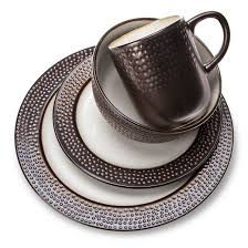 barnet bronze 16pc dinnerware set threshold target