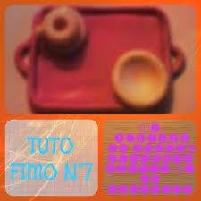 vaisselle petit dejeuner tuto fimo n 7 partie 2 la vaisselle du plateau petit déjeuner