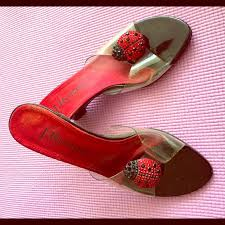 90 j renee shoes used j renee ladybug sandals size 7