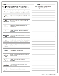 Health And Wellness Worksheets For Nutrition And Wellness Worksheets Mediafoxstudio Com