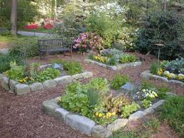 Rock Garden Designs For Front Yards Fall Front Yard Vegetable Garden Design Small Vegetable Garden