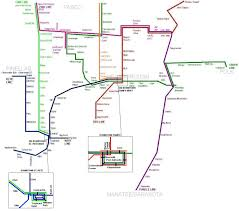 Pittsburgh Metro Map by Fantasy Surface Rail The Global Transit Guidebook By Hartride 2012
