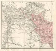 Persia Map 1 Map Back Of Volume Persia Persia U003e Volume 2 Journeys In