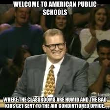 School Today Meme - today was the students first day of school meme guy