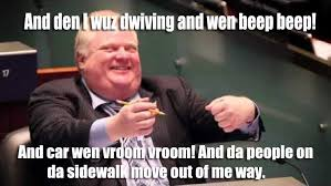 Rob Ford Meme - arguing attachments