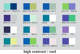 2 color combination cool color combinations high contrast and cool color pairs color