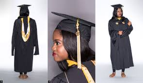 master s cap and gown breaking the cap and gown
