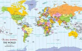world map political with country names free countries and capitals part 1 a s on tinycards