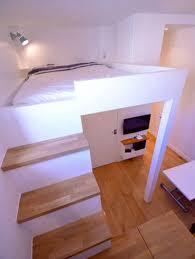 hauteur plafond chambre mezzanine dans un appart de 15m2 avec 3m de hauteur sous plafond